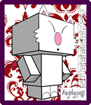 Mog the Moogle Cubeecraft by angelyques