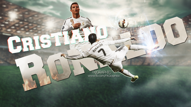 Cristiano Ronaldo Wallpaper by FDoqus