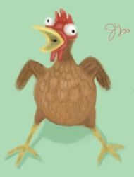 Screaming Chicken by JLai