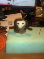 Needle Felt Owl by chenali