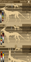 Cacklecanter Official Species Chart by Napoisk