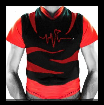 Stitched heartbeat by Lite-Black