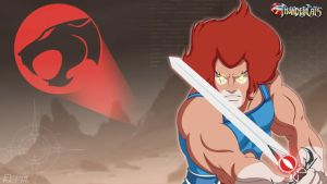 Lion-O wallpaper ( Thundercats) by MikeBock