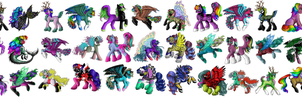 Even more pony adopts (CLOSED) by Bouncy-Deerz