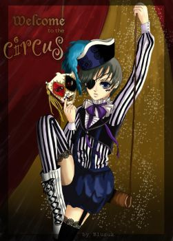 Welcome to the circus by BloodyButterfly-wp