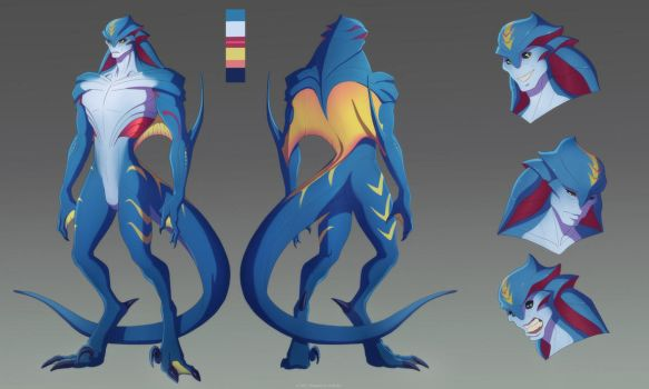 reignitedn7 reference commission by Sythgara