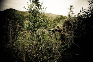Camouflaged sniper by kellebass