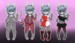 Adoptable anthro CLOSED. 008 by Dexeste