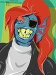 *Undyne gives you a big smile by Vass-RieH
