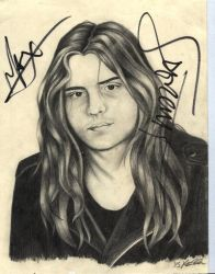 Andreas, of Sepultura by Tripehound