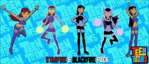 Teen Titans Pack1: Starfire and Blackfire FOR XPS by ASideOfChidori