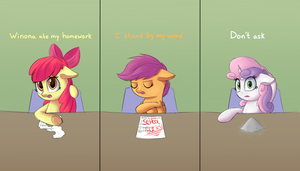 Excuses [ATG 2016 D18] by VanillaGhosties