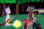 The campfire song by Alexiaf13
