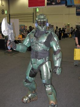 Master Chief London Expo 08 by Dead-Space