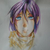 Noragami - Yato by k8ivity