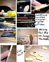 Easy Rigatoni Tutorial by kayanah