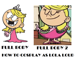 How to Cosplay as Lola Loud by Prentis-65