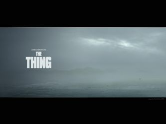 The Thing Wallpaper by Karezoid