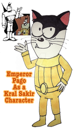 Emperor Pago as a Kral Sakir character by WumoWumo