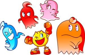 Pac-Man and the Ghost Monsters by JamesmanTheRegenold