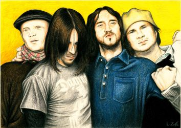 RED HOT CHILI PEPPERS by Zafe12