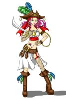 pixel pirate by paper-flowers