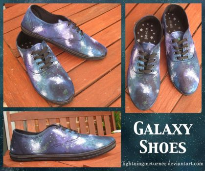 Galaxy Shoes by LightningMcTurner