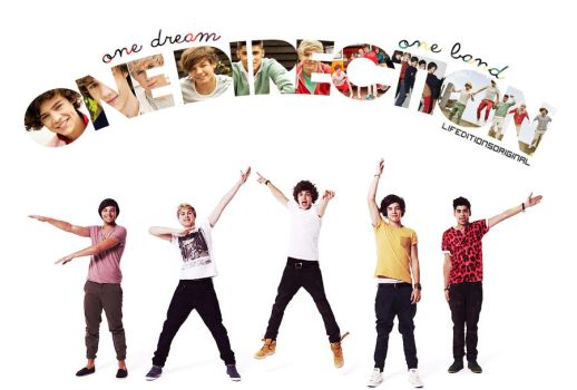 One dream, One band One Direction by LifeditonsORIGINAL