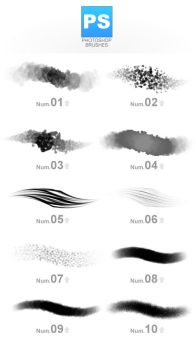 Phothshop brushes by likihouse