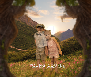 Young Couple by theprettiestkasoy