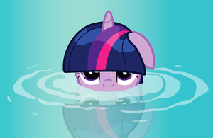 Twilight Sparkle in water by JoeMasterPencil