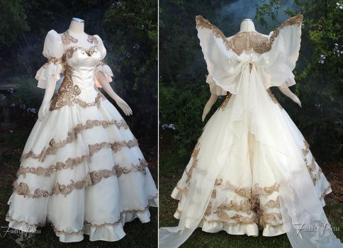 Tsubasa Chronicles Bridal Dress by Firefly-Path