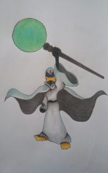 Daffy Duck the Wizard by cavaloalado