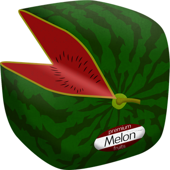 Cube Melon by Floodgrunt
