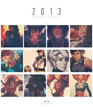 CT Summary Of Art 2013 by dCTb