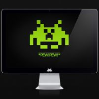 creeper invaders by blackboxdesign