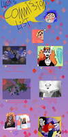 My Commission List!{OPEN} by Zelda-muffins