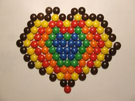 Love M and Ms by oxygenik