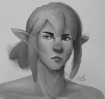 Link Sketch by MuddyMink