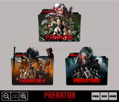Predator Movie Collection Folder Icon Pack by Bl4CKSL4YER