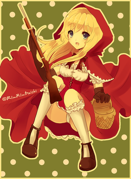Red Riding Hood OC by RinRinDaishi