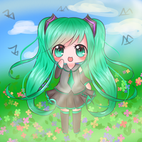 Miku Color Practice! //Improved MEME by Emily071