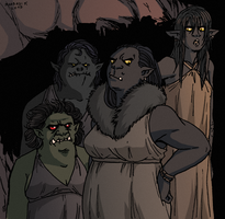 Orc Concubines by Shabazik
