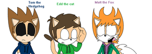 Eddsworld as sonic characters by AustynTheHedgehog
