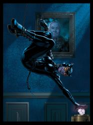 Catwoman, Women of Legend Base Card by Guy-Bigbelly