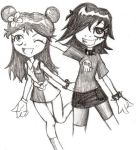 HiHi Puffy AmiYumi by Mizers