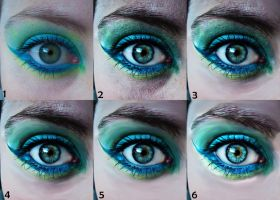 Turquoise Eye -WIP- by The-Dragoness