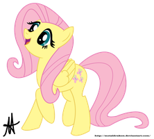 Surprised Fluttershy Vector by Ardas91
