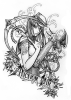 Anchor Ink Promo by dpdagger