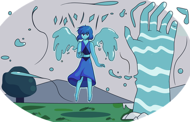 [Steven universe] Leave. by ColorfullArt2002